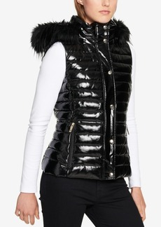 Tommy Hilfiger Faux-Fur-Trim Puffer Vest, Created for Macy's