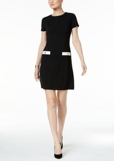 Tommy Hilfiger Faux-Pocket Shift Dress