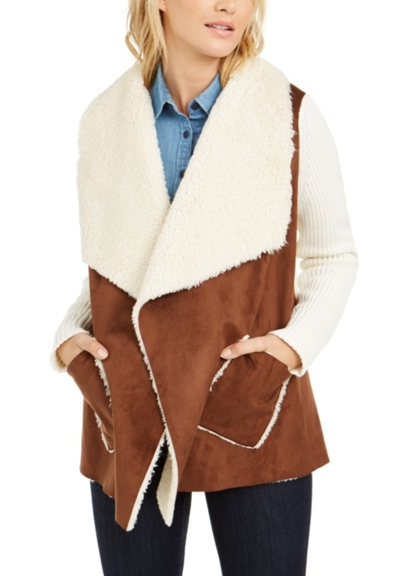 Tommy Hilfiger Faux-Shearling Jacket