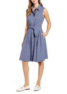 Tommy Hilfiger Fit & Flare Shirtdress