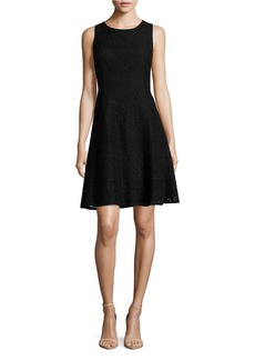 TOMMY HILFIGER Fit and Flare Lace Dress
