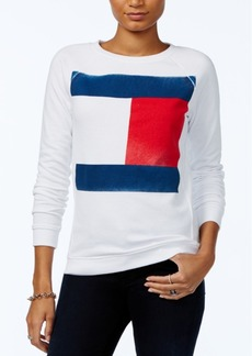 Tommy Hilfiger Flag Logo Sweatshirt, Only at Macy's
