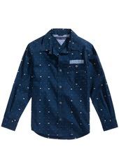 Tommy Hilfiger Flag-Print Cotton Shirt, Toddler Boys