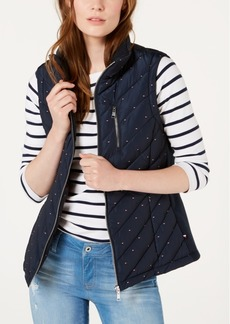 Tommy Hilfiger Flag-Print Puffer Vest, Created for Macy's