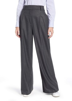 Tommy Hilfiger Flannel Wide Leg Trousers