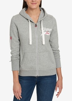 Tommy Hilfiger Fleece Graphic Hoodie, Created for Macy's