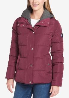 Tommy Hilfiger Fleece-Hood Puffer Coat