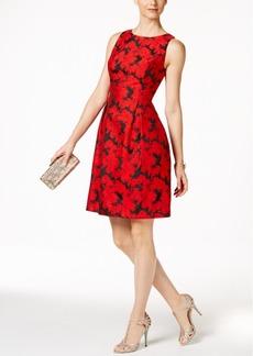 Tommy Hilfiger Floral-Jacquard Dress