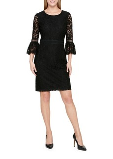Tommy Hilfiger Floral Lace Sheath Dress