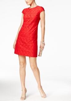 Tommy Hilfiger Floral Lace Shift Dress
