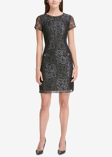 Tommy Hilfiger Floral Lace Shift Dress