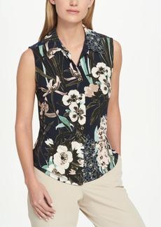 Tommy Hilfiger Floral-Print Blouse