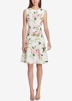 Tommy Hilfiger Floral-Print Fit & Flare Dress