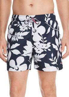 Tommy Hilfiger Floral-Print Regular Fit Swim Shorts