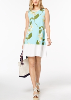 Tommy Hilfiger Floral-Print Shift Dress, Created for Macy's