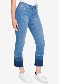 Tommy Hilfiger Frayed Dip-Dye Jeans, Created for Macy's