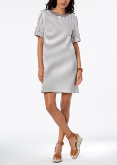 Tommy Hilfiger French Terry Tab-Sleeve Dress, Created for Macy's