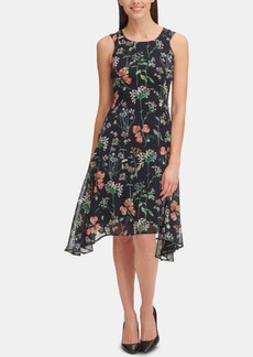 Tommy Hilfiger Gala Floral High-Low Dress