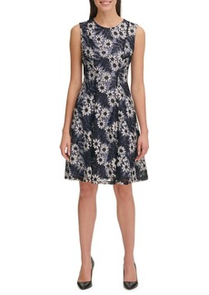 Tommy Hilfiger Garden Lace Fit-&-Flare Dress