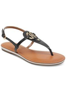 Tommy Hilfiger Genei Slingback Thong Sandals Women's Shoes
