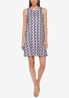 Tommy Hilfiger Geo-Print Chiffon Dress, A Macy's Exclusive Style