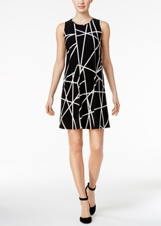 Tommy Hilfiger Geo-Print Shift Dress