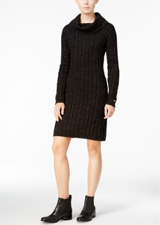 Tommy Hilfiger Georgina Cowl-Neck Sweater Dress, Only at Macy's