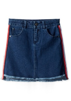 Tommy Hilfiger Girls' Big Denim Skirt Madison wash