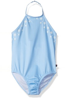 Tommy Hilfiger Girls' Big One-Piece Swimsuit