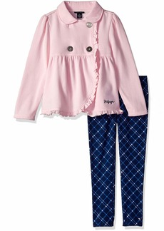 Tommy Hilfiger Girls' Little 2 Pieces Jacket Set