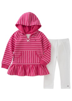 Tommy Hilfiger Girls' Little Long Sleeve Tunic Set