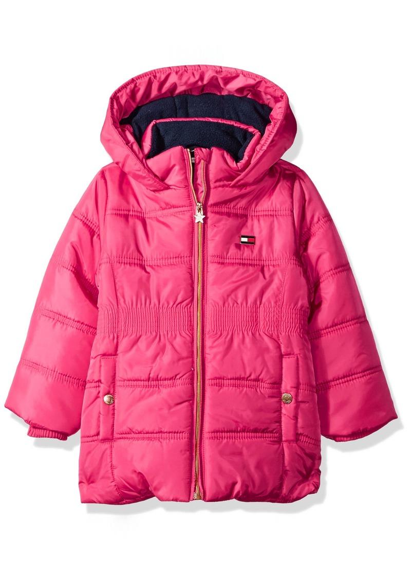 89a1d507cf51 Tommy Hilfiger Tommy Hilfiger Girls  Little Quilted Puffer Jacket ...