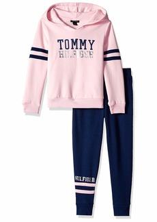 Tommy Hilfiger Girls' Toddler 2 Pieces Jog Set