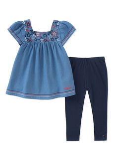 Tommy Hilfiger Girls' Toddler Tunic Set