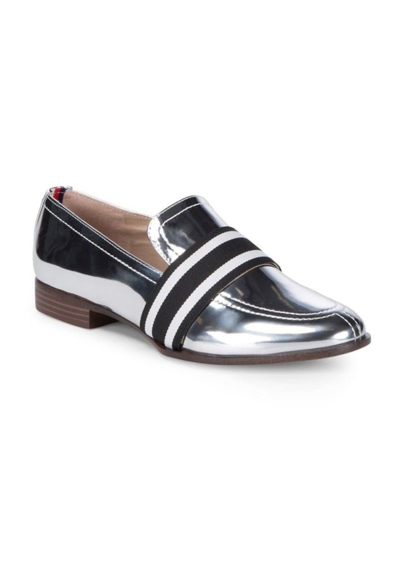 8b232d0ccd23 Tommy Hilfiger Tommy Hilfiger Gnaz Metallic Leather Casual Loafers ...