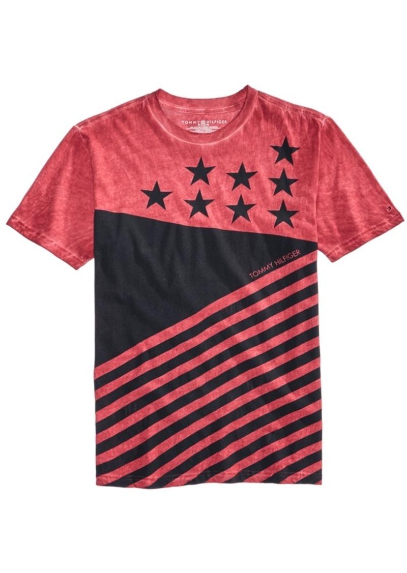 248d1c9b9e293 Tommy Hilfiger Tommy Hilfiger Graphic-Print Cotton T-Shirt
