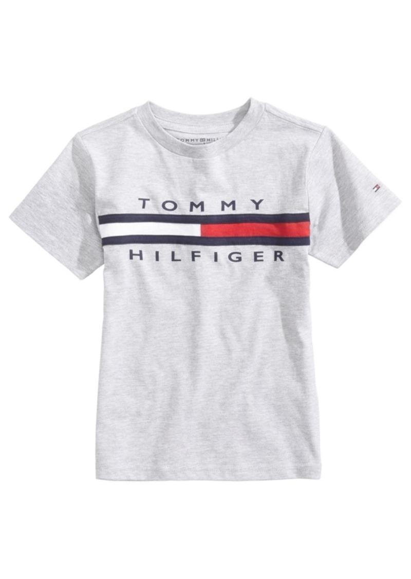 079e98b07 Tommy Hilfiger Tommy Hilfiger Graphic-Print Cotton T-Shirt, Big Boys ...