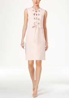 Tommy Hilfiger Grommet Lace-Up Dress
