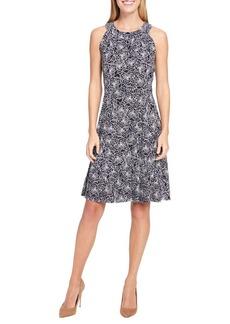 Tommy Hilfiger Halterneck Jersey Fit-and-Flare Dress
