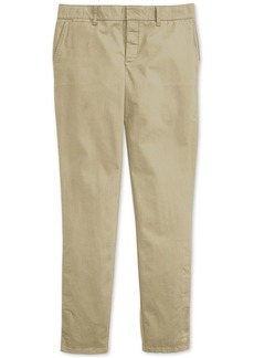 Tommy Hilfiger Adaptive Women's Hampton Slim Chinos with Magnetic Fly
