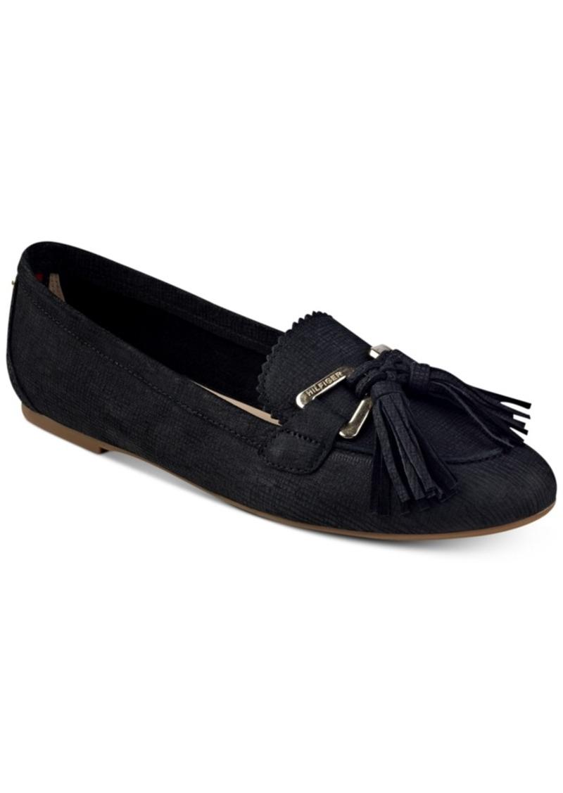 03dfa80014e05e Tommy Hilfiger Tommy Hilfiger Handrian Flats Women s Shoes