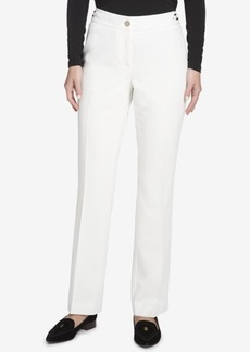 Tommy Hilfiger Hardware-Embellished Straight-Leg Pants, Created for Macy's