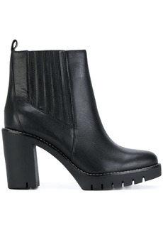 Tommy Hilfiger heeled Chelsea boots - Black