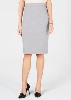 Tommy Hilfiger Herringbone Pencil Skirt, Created for Macy's