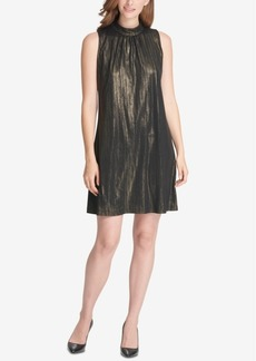 Tommy Hilfiger High-Neck Trapeze Dress