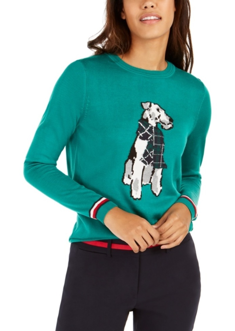 Tommy Hilfiger Holiday Terrier Sweater