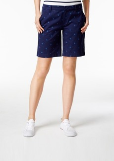 Tommy Hilfiger Hollywood Sailboat-Print Shorts, Created for Macy's