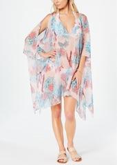 Tommy Hilfiger Honolulu Garden Chiffon Caftan Cover-Up Women's Swimsuit