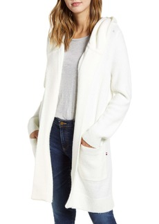 Tommy Hilfiger Hooded Long Open Cardigan