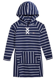 Tommy Hilfiger Hooded Sweatshirt Dress, Big Girls